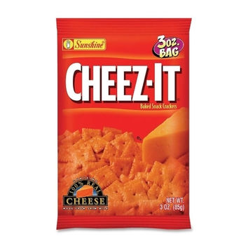 keebler cheez-it, 3 oz., 6/bx, original Case of 3