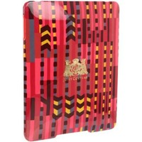 Juicy Couture Electronics Hard Ipad Case ,Bright Rose,One Size