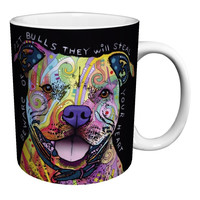 pit bull Dog mugs coffee mugs ceramic Tea Cups white mug Dishwasher&Microwave Safe porcelain tea cup kitchen home decal kid mug