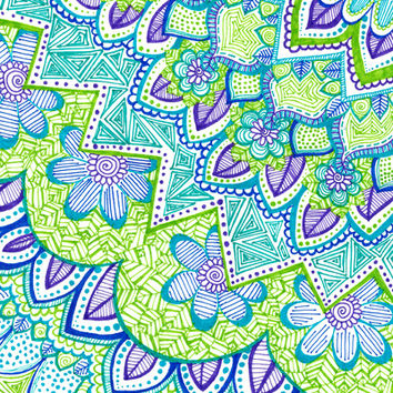 Sharpie Doodle 2 Art Print by Kayla Gordon