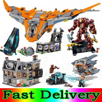 Lepin 07105 250pcs Super Heroes 76102 Thor Weapon Quest Building Blocks Bricks Toys Gifts Marvel AVENGERS Infinity War