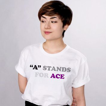 A Stands For Ace Pride Shirt
