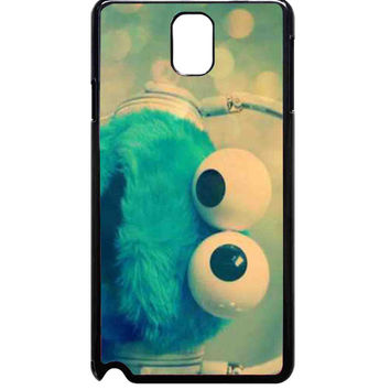 cookie monster with headphones For Samsung Galaxy Note 3 Case ***