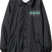Diamond Hardware Stack Coach Jacket Large Black