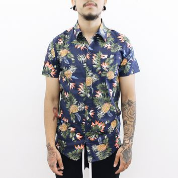 Pineapple Button Up Shirt