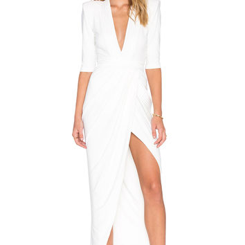 Zhivago Eye of Horus Dress in White