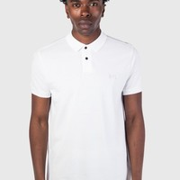 Weekend Offender Slater Polo - White