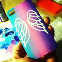 angel wings case  by CasesbyCatherine on Etsy