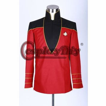 Custom Made Star Trek Admiral's Uniform Jacket Cosplay Costume