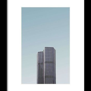 Urban Architecture - Tower 42, London, United Kingdom - Framed Print