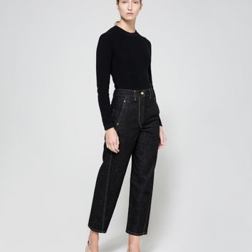 Lemaire / Twisted Pants in Dark Indigo