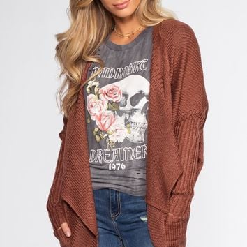 Sunset Vista Cardigan - Mauve