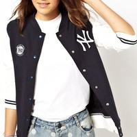 47 Brand | 47 Brand New York Yankees Bomber Jacket Exclusive To ASOS at ASOS