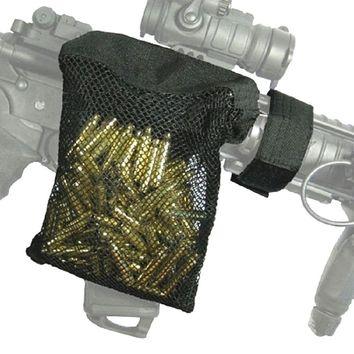 Airsoft Military Army Brass ar15 Bullet Catcher Bag Shooting Shell Pouch Tactical Molle Rifle Gun Mesh Pouch Hunting Accessorie