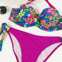Cupshe Endless Summer Floral Bikini Set