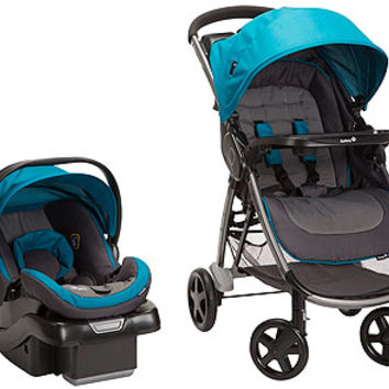 Safety 1st Step and Go Travel System Stroller - Capri