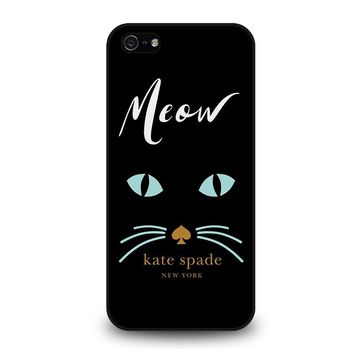 KATE SPADE MEOW iPhone 5 / 5S / SE Case Cover