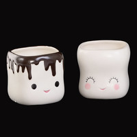 Sweet Marshmallow Mugs Set