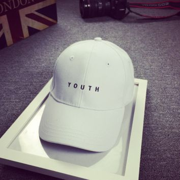YOUTH Embroidered Baseball Hat Cap for Summer