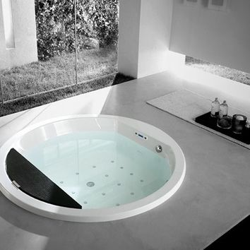 WHIRLPOOL BUILT-IN BATHTUB NAOS | TEUCO GUZZINI