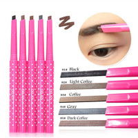 1 Pcs Natural Waterproof Longlasting Shadow Eyebrow Pencil Kit Eye Brow Pen Make Up Liner Powder Shaper Cosmetic Makeup Tool