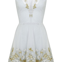 Embellished Tulle Mini Dress | Moda Operandi