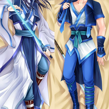 New  Male Chinese Paladin 4 Anime Dakimakura Japanese Pillow Cover MALE27