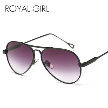 Royal Girl Designer Women Sunglasses Metal Retro
