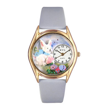 Whimsical Watches Hand Crafted Holiday Gifts Easter Eggs Watch Small Gold Style