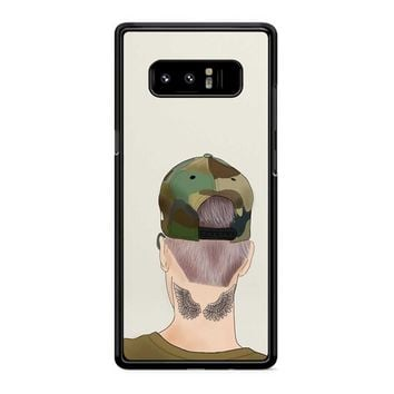 Justin Bieber Drawing Samsung Galaxy Note 8 Case