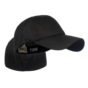 TSNK Men's and Women's Military Enthusiasts Basic Tactical Cap Snapback  Stretchable Hat Running/Fishing