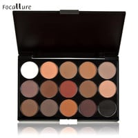 Good Sale 15 Colors Women Cosmetic Makeup Neutral Nudes Warm Eyeshadow Palette Cosmetic Makeup Set Nude Eye Shadow Agu 1