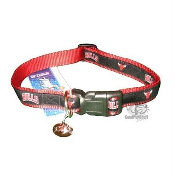 Chenier Chicago Bulls Alternate Style Dog Collar