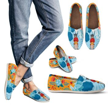 Optometry Pop Art Casual Shoes