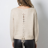 Fox + Hawk Amanda Sweater - Ivory