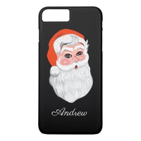 "Cute ""Santa Claus"" with name iPhone 8 Plus/7 Plus Case"