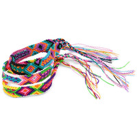Element Element X Seiba Friendship Bracelet - 3-Pack Multi, One