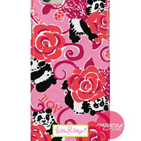 Lilly Pulitzer Alpha Omicron Pi Panda iPhone Samsung Case Series