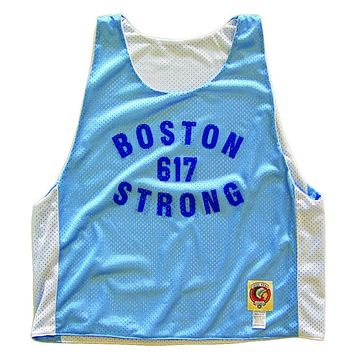 Boston 617 Strong Lacrosse Pinnie