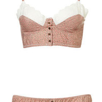 Ditsy Floral Bralet and Mini - Lingerie & Sleepwear  - Apparel  - Topshop USA