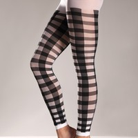 Lattice Work Pattern Pantyhose