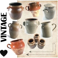 A Vintage Pottery Collection