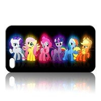 My Little Pony Hard Case Skin for Iphone 4 4s Iphone4 At&t Sprint Verizon Retail Packing.