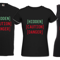 Fallout Hidden Caution Danger T Shirt