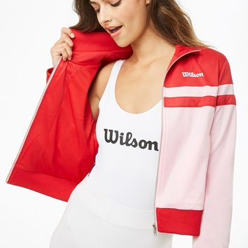 Wilson Striped Logo Jacket