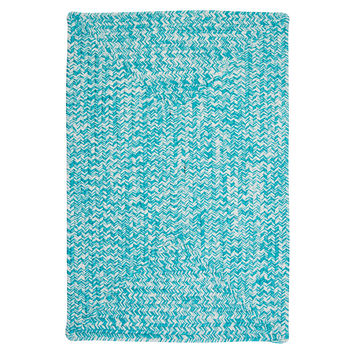 Colonial Mills Catalina Turquoise Indoor/Outdoor Area Rug & Reviews | Wayfair