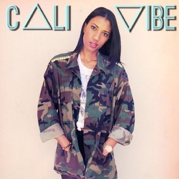Studded Army Jacket / Army Jacket / Military Jacket / by CaliVibe
