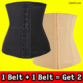 Underbust Corset Waist Training Corset Cincher Girdle Sport Body Shaper Workout Trainer