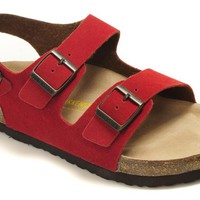 Birkenstock Women Men Red Casual Sandals Shoes