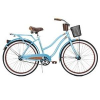 Amazon.com: Huffy Women's Ocean Deluxe Bike (Blue Metallic, Large/26-Inch): Sports & Outdoors